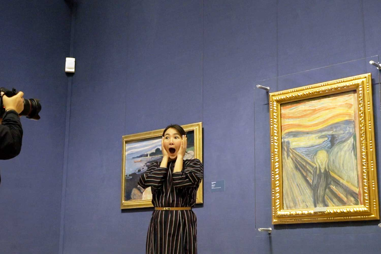 Oslo Pass Scream National Gallery
