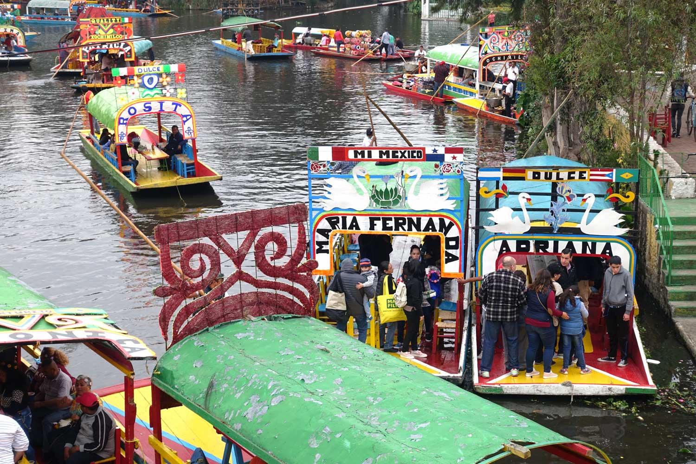 Mexico City Day Trip - Xochimilco