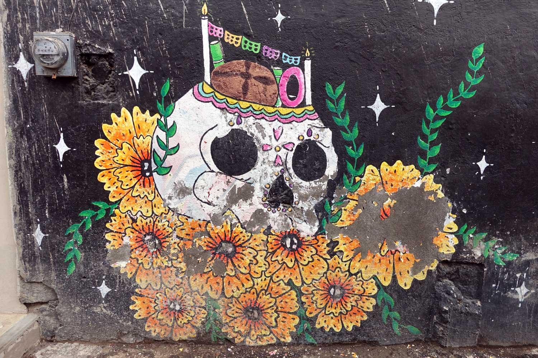 San Andres Mixquic street art
