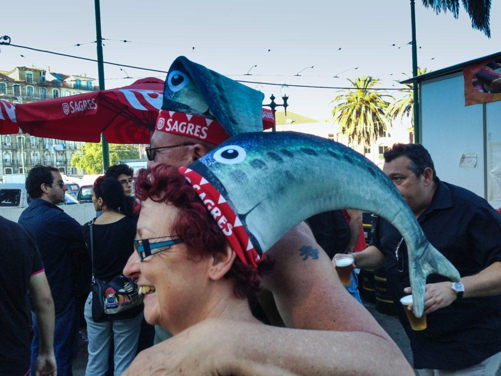 The Sagres Beer sardine hat