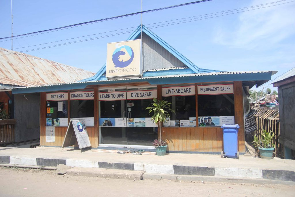 Dive Komodo Office in Labuan Bajo