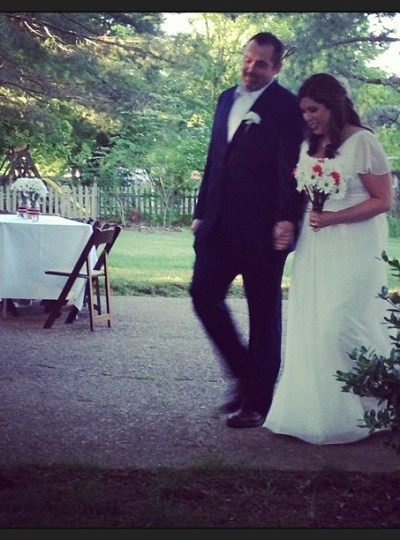 Our Little Backyard Wedding