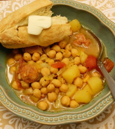 Mom's Spanish Bean Soup