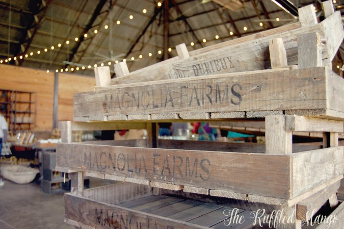 15. Magnolia Farms crates