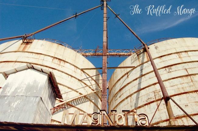 5. The silos