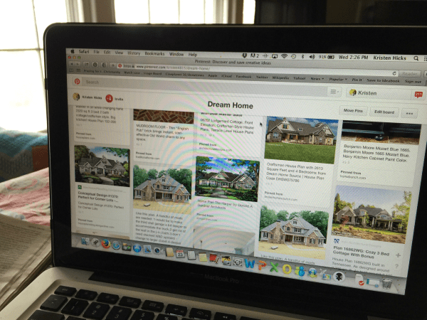 Dream home page