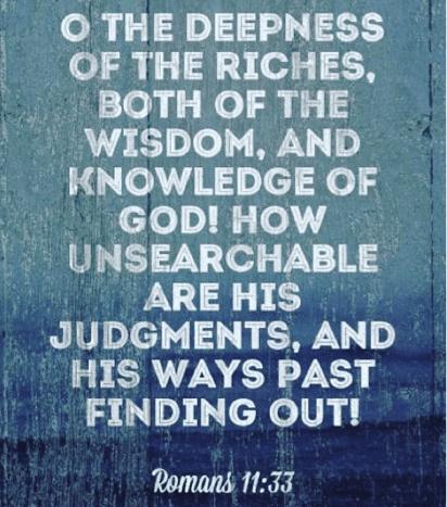 Wisdom and Knowledge of God