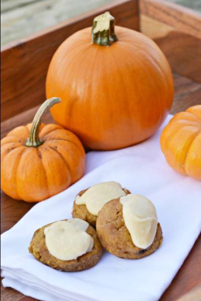 glazed-pumpkin-cookies