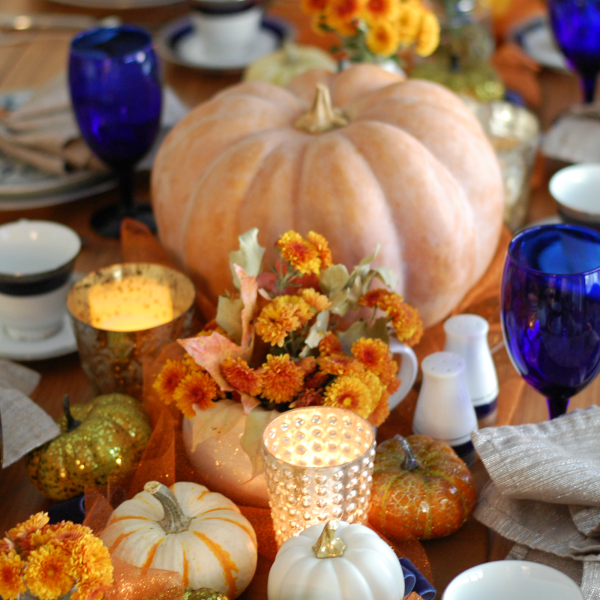 Celebrate those who have shaped what your family is today. Make their recipes, use their china...sit around the Thanksgiving table and tell their stories.
