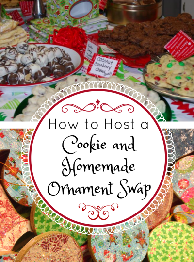 How to Host a Cookie and/or Homemade Ornament Swap
