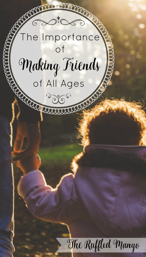 We miss out on a lot of love and learning when we're friends only with people our own age. Our church families provide the perfect opportunity to grow friendships with people from every walk of life! Need ideas to cultivate these friendships? We've got you covered!