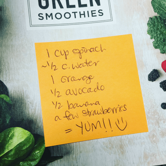 If you've never made a smoothie, it can actually be a bit intimidating. I mean, the fear of getting stuck with a huge green monster of a mess that tastes horrible is a very real fear. ;) But since smoothies are packed with fiber and nutrients, it's totally worth learning how to adopt this healthy habit.