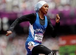 Zamzam Farah at the London 2012 Olympics
