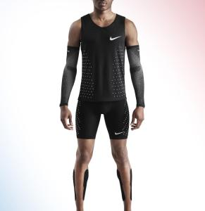 Nike's running clothes used for the record attempt