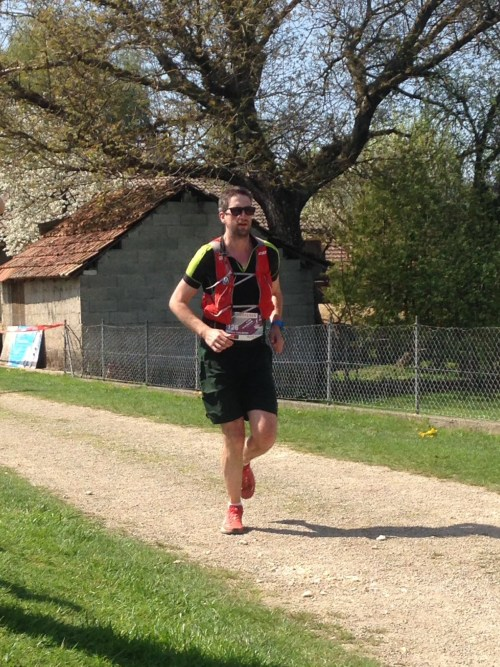 Finish of my first race of the year