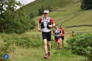 Giles running Lakeland 100 wearing X-Bionic Run Shorts