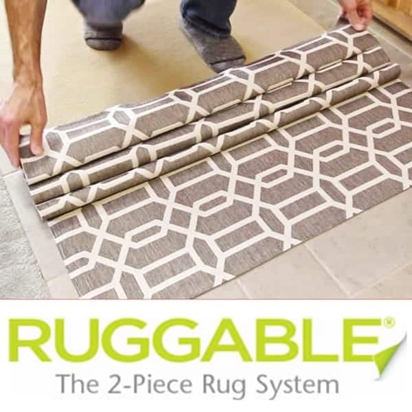 Ruggable 2-Piece Washable Area Rugs Logo