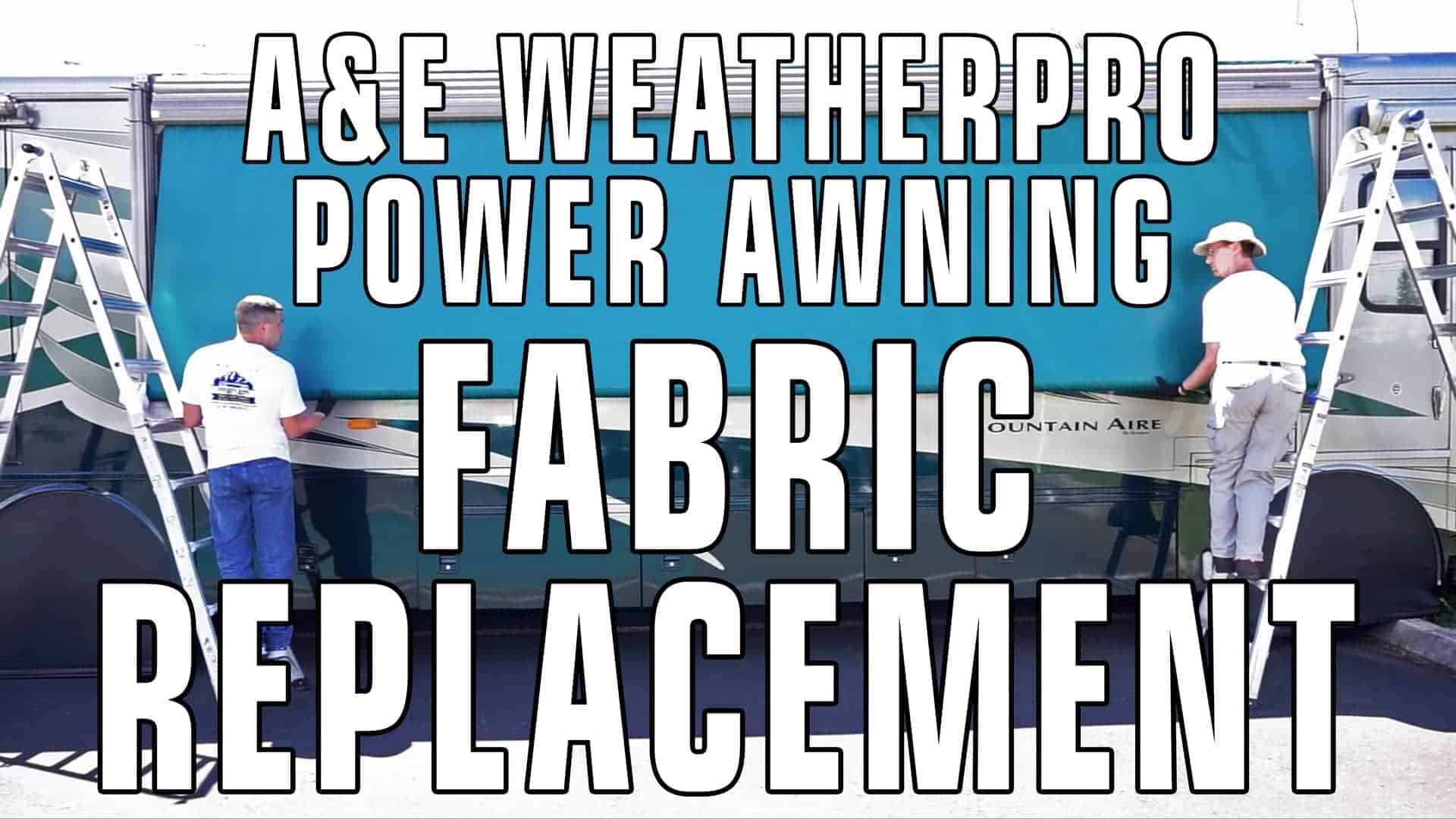 How To Replace an A&E / Dometic WeatherPro Power Awning ...