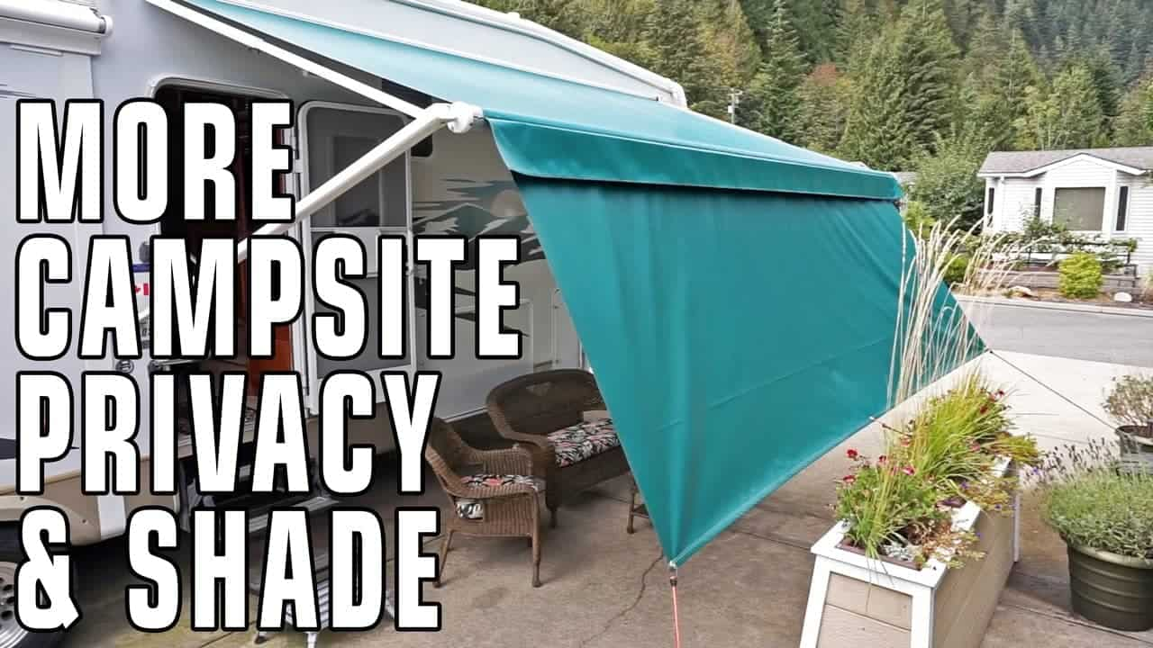 Improve Campsite Privacy Amp Shade With Tough Top Awnings