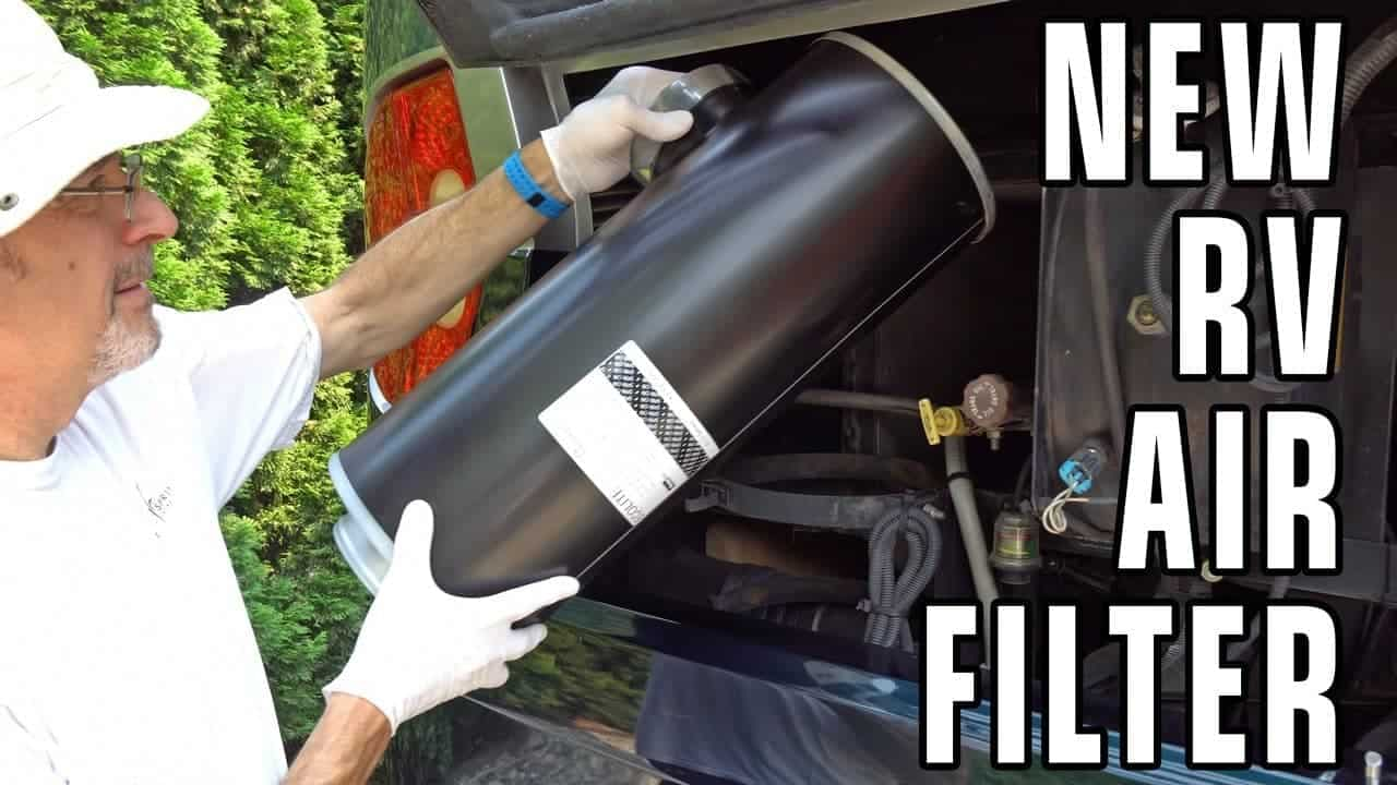 Replacing The Air Cleaner in our Diesel Pusher RV