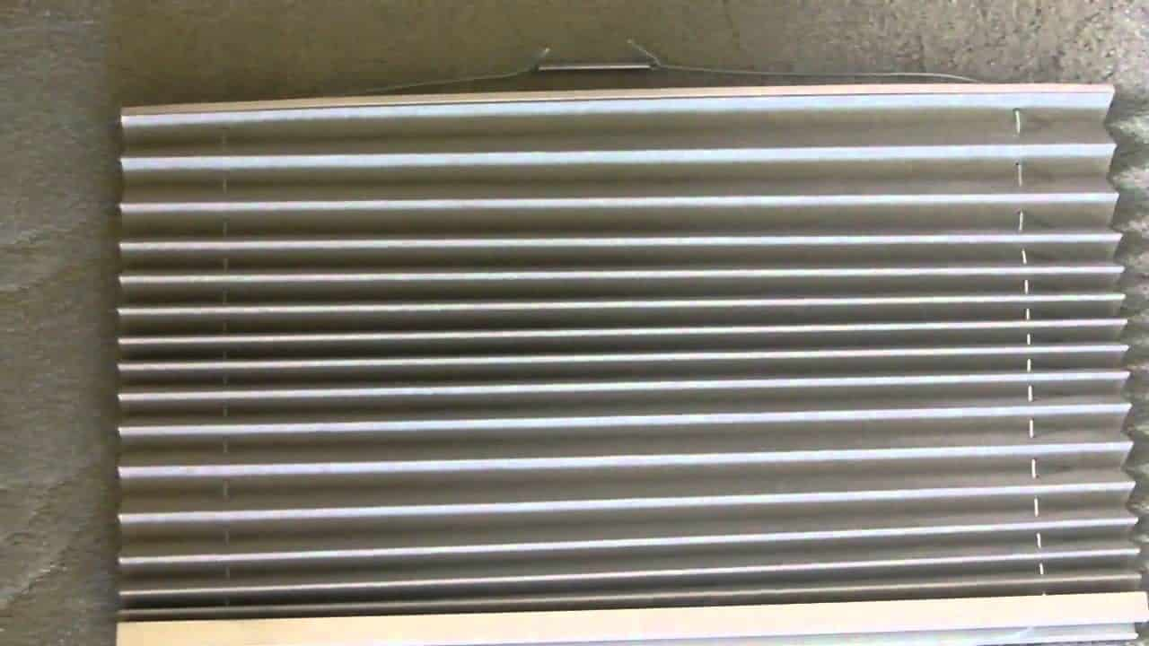 How To Re String A Pleated Rv Window Shade Thervgeeks
