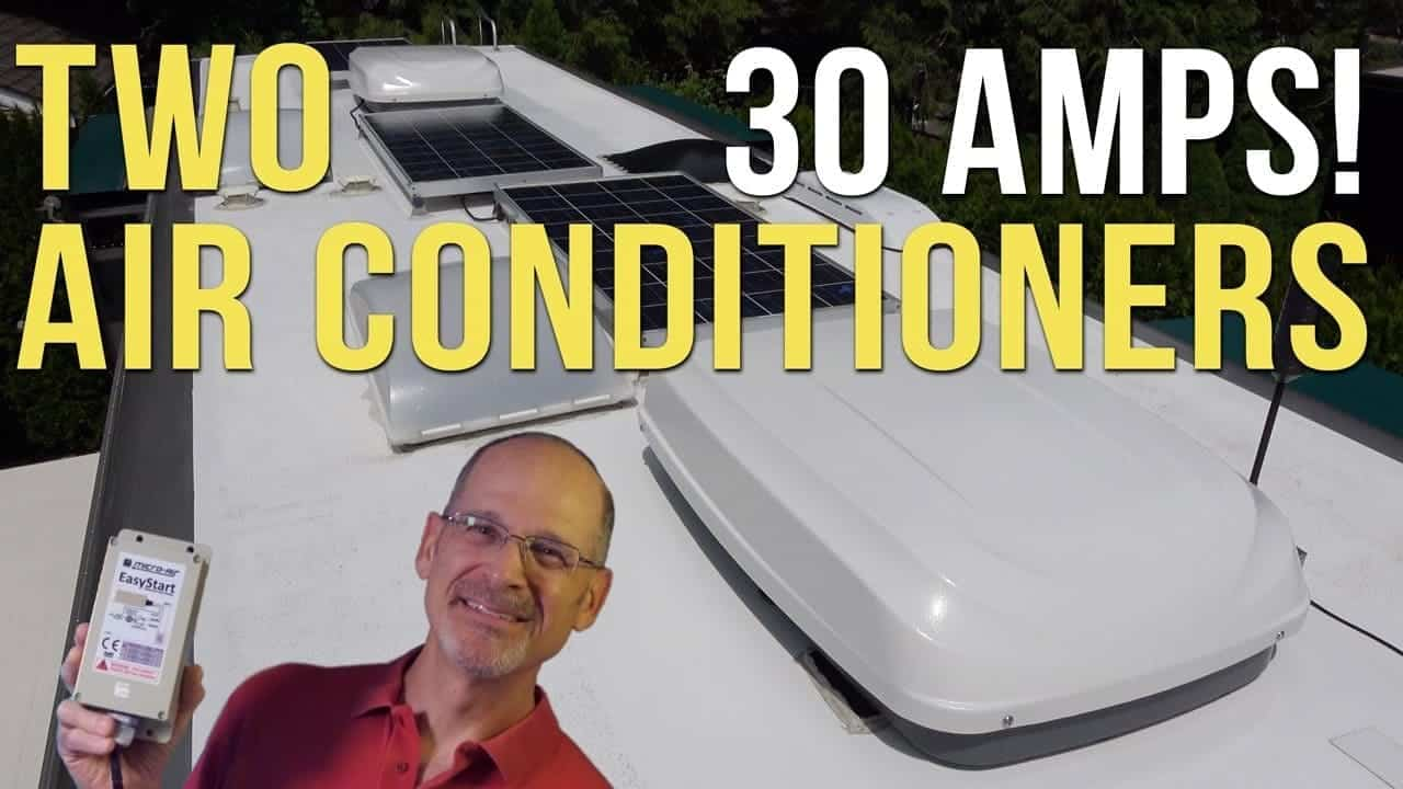 How to Run 2 RV Air Conditioners At 30-amp Campsites