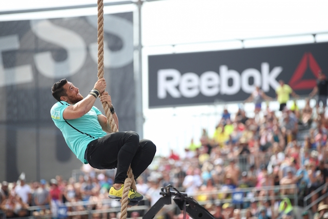 The CrossFit Games cross-training and crossfit