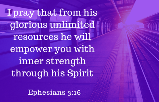Empowered by His Strength