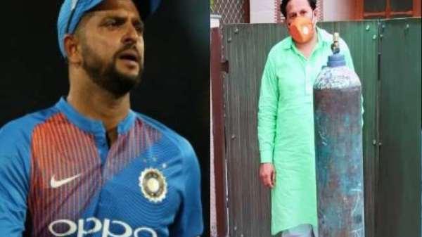 क्रिकेटर सुरेश रैना के ट्वीट पर 20 मिनट में मेरठ पुलिस ने पहुंचाया ऑक्सीजन सिलेंडर, मौसी की खातिर की थी अपील