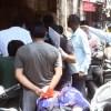 कोरोना का नही दिखा लोगों में खौफ सुबह के समय बाजारों में उमडी भीड़