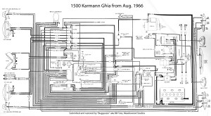 TheSamba :: Karmann Ghia Wiring Diagrams