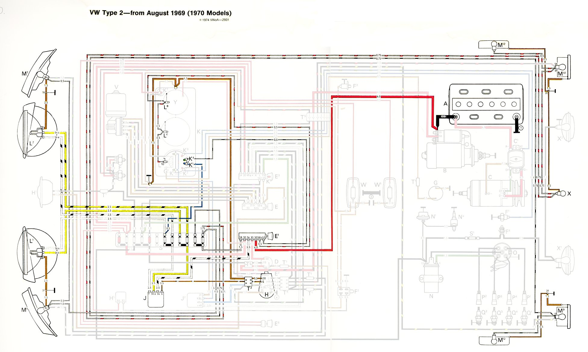1971 Cadillac Vacuum Line Diagram Headlights Wiring