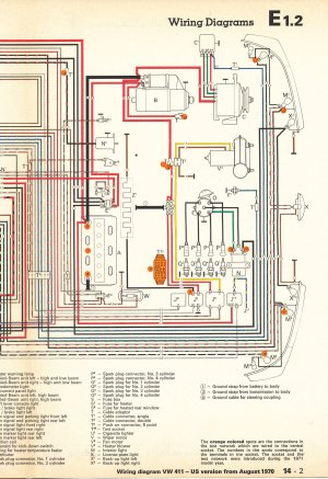 1971 Vw Beetle Wiring Diagram  Wiring Diagram Pictures