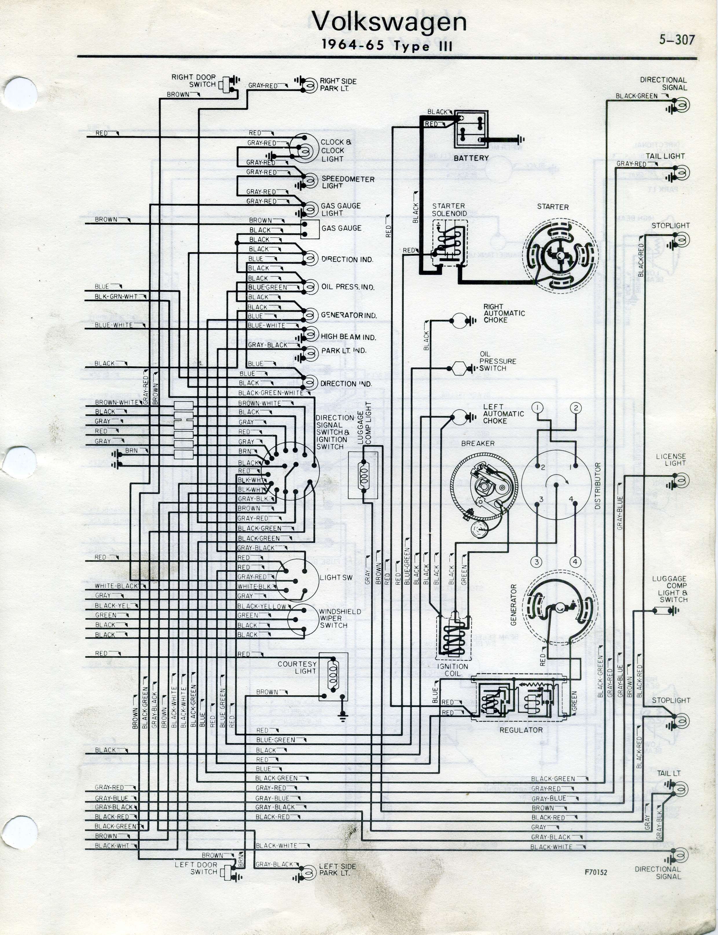 Thesamba Type 2 Wiring Diagrams 5