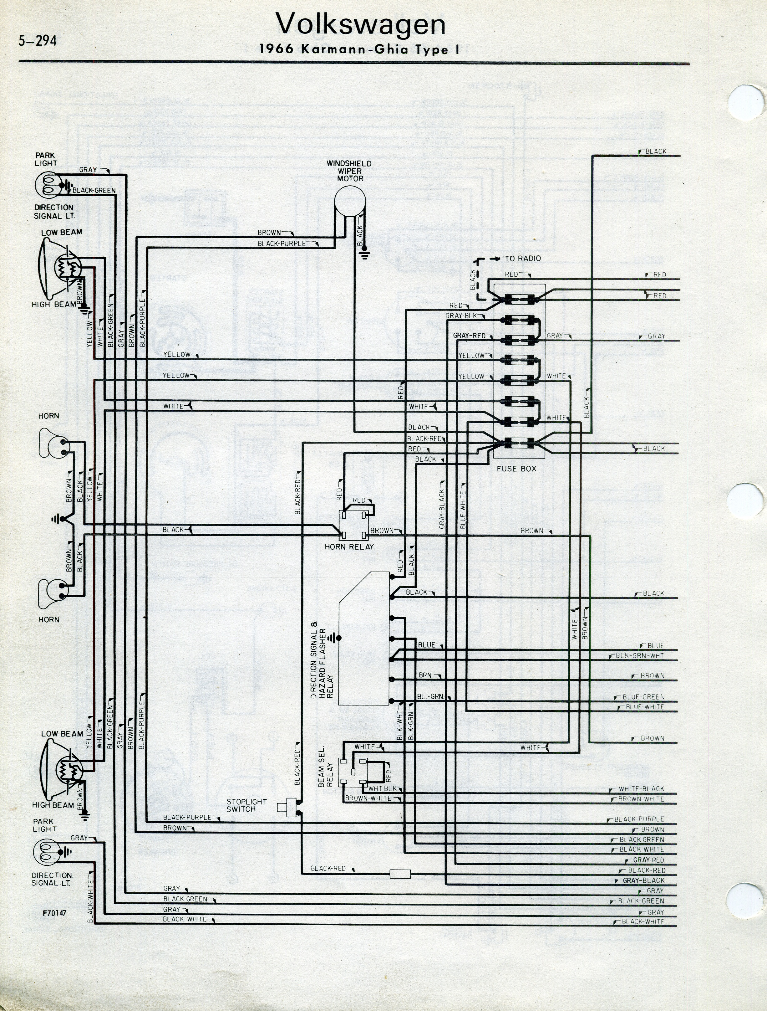 72 Vw Engine Diagram