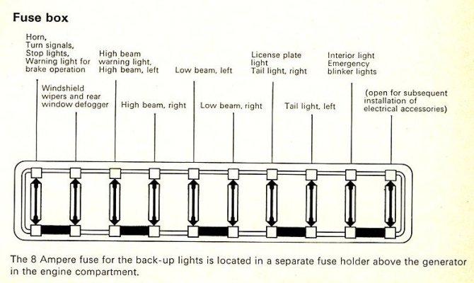 1969 vw beetle fuse box  1960 8hp kohler engine wiring