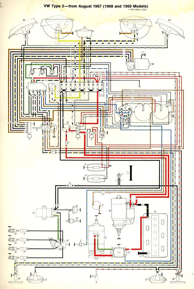 vw beetle ignition wiring diagram wiring diagrams 1970 vw bug wiring diagram diagrams