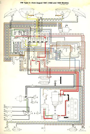 1967 Vw Horn Wiring Diagram  Wiring Diagrams Schematics