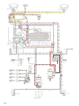 TheSamba :: Type 1 Wiring Diagrams