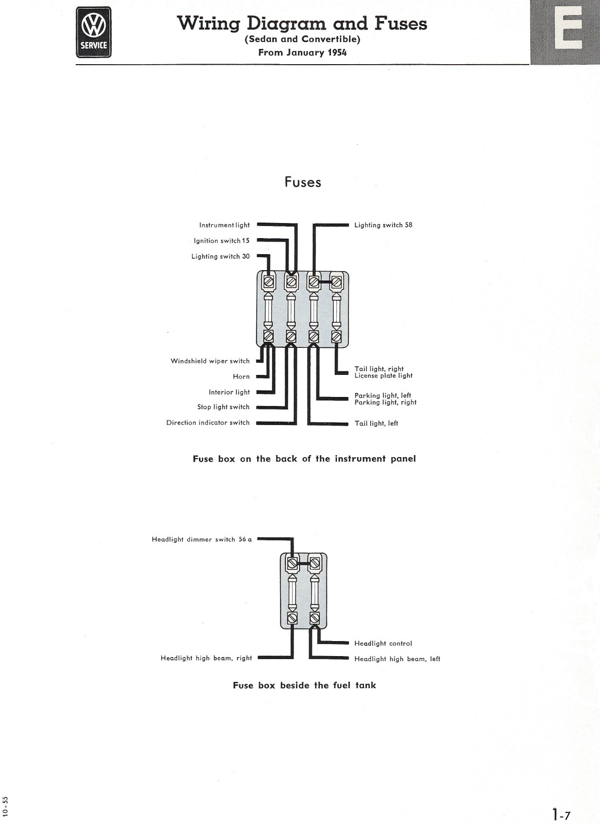 71 Vw Bug Wiring Diagram