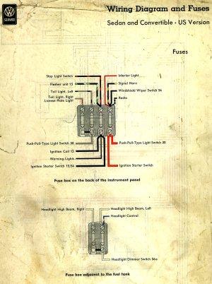 TheSamba :: Beetle  19581967  View topic  Wiring