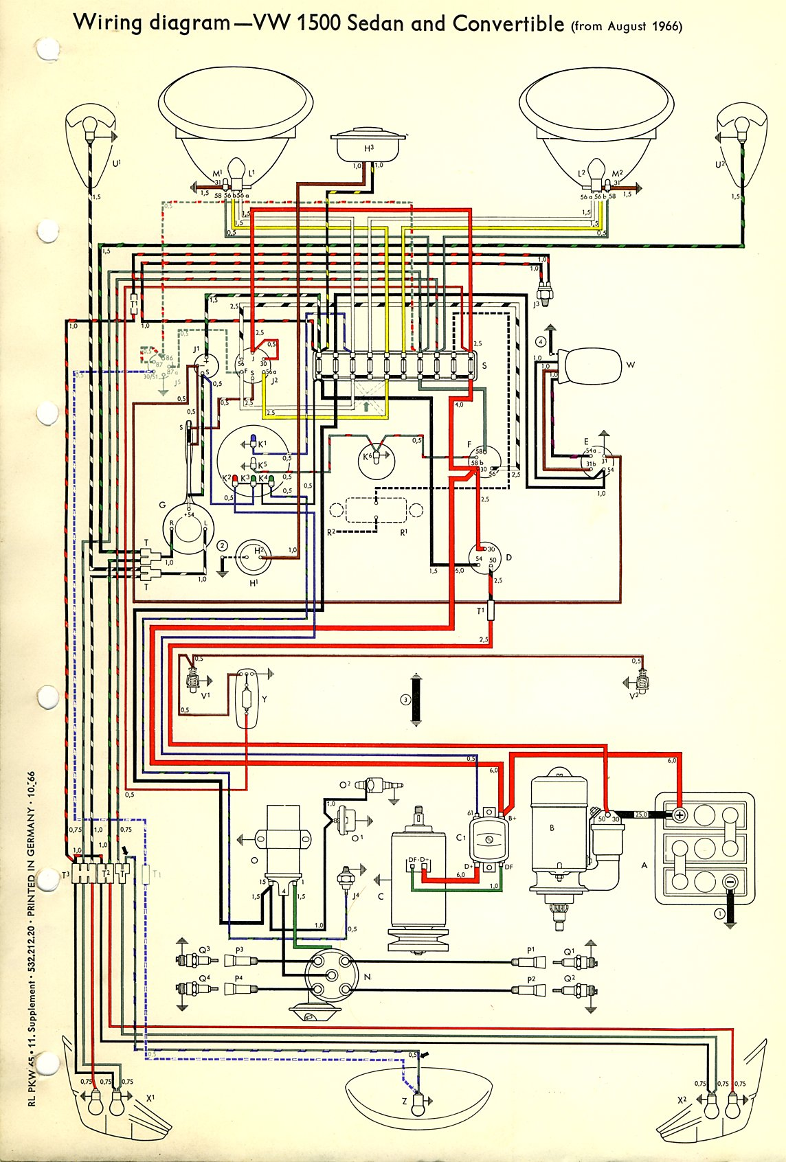 Vw Bug Wiring Harness 1999