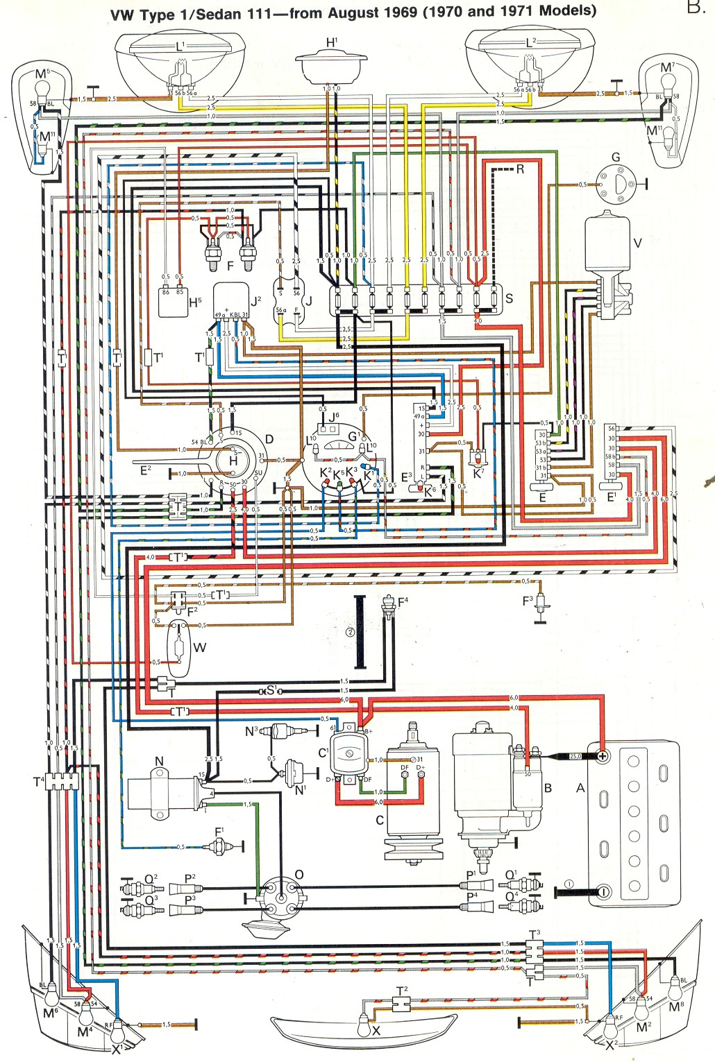 1970 Vw 1600cc Engine Diagram Wiring Library 1975 Volkswagen Beetle