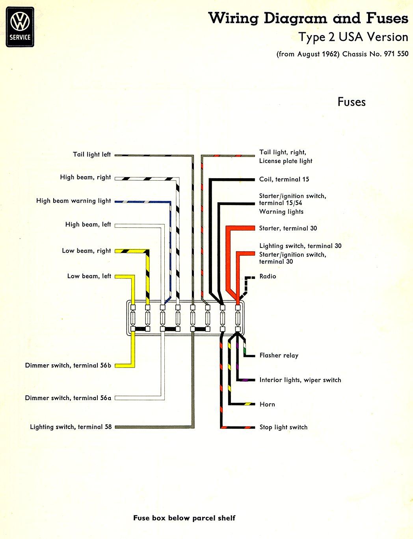 [SCHEMATICS_43NM]  D2DC 1967 Vw Bus Fuse Box | Wiring Library | Vw Bus Fuse Box |  | Wiring Library