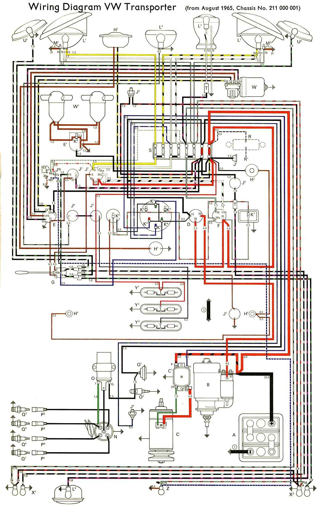 WRG-6981] Vw Super Beetle Fuel Injection Wiring Diagram on