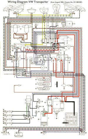 TheSamba :: Type 2 Wiring Diagrams