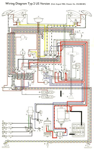 TheSamba :: Type 2 Wiring Diagrams