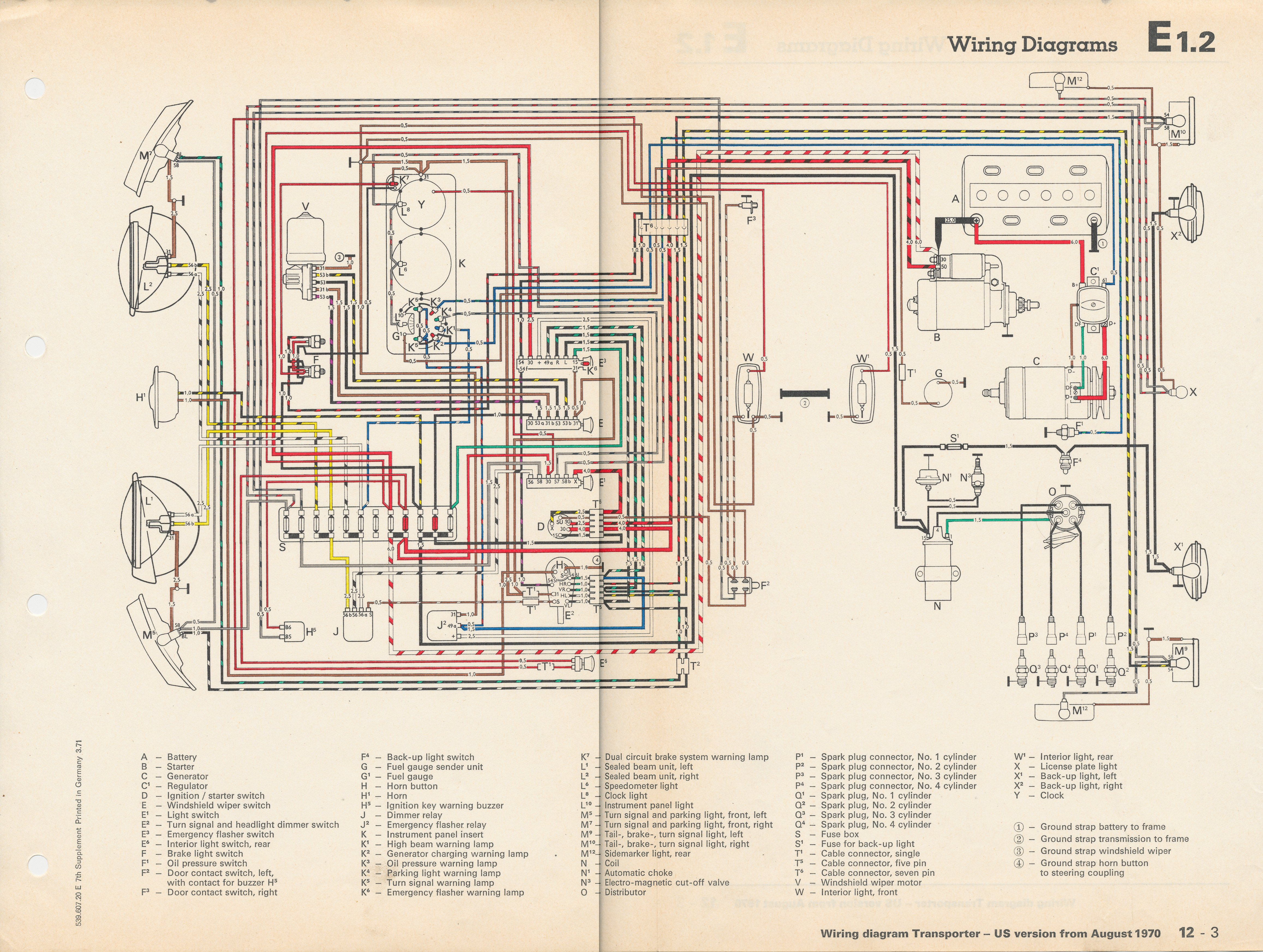 1970 Mustang Wiring Schematic For Headlights Maplight