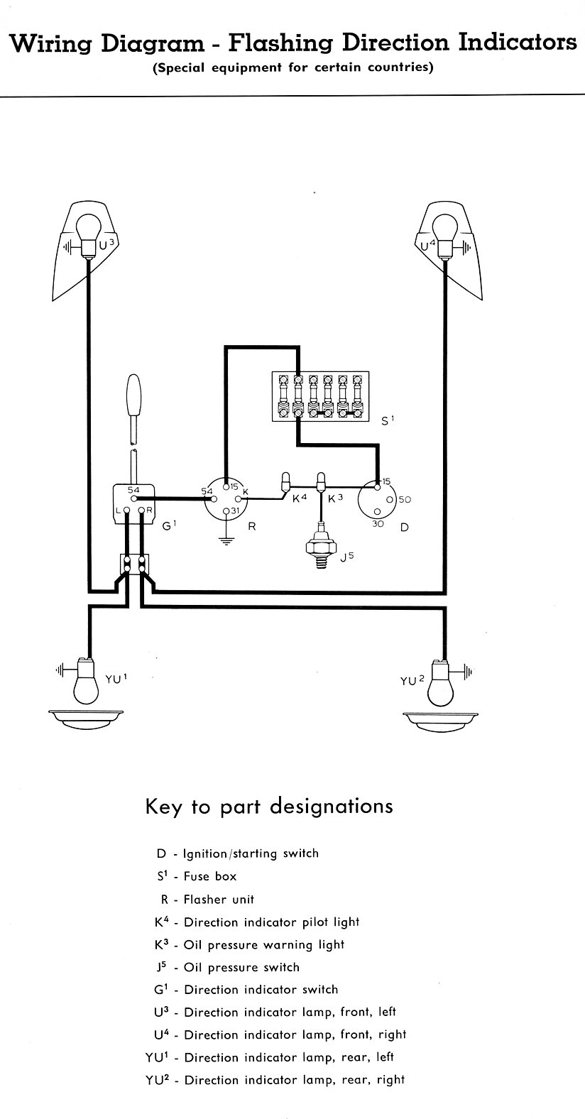 Turn Signal Diagram Nilzanet – Universal Turn Signal Wiring Diagram