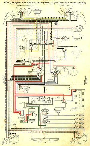 TheSamba :: Type 3 Wiring Diagrams
